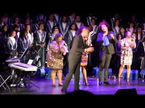 Broken To Minister in MADRID, SPAIN Damien Sneed & The Levites