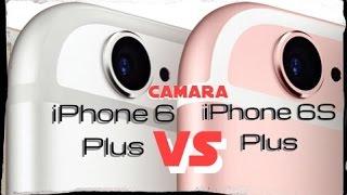 Comparacion camaras Iphone 6 Plus vs Iphone 6s Plus