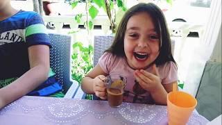 Smoothie challenge yaptık !! eğlenceli kız oyunları