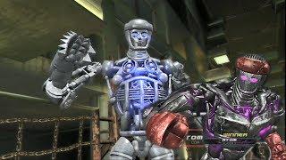 REAL STEEL-ATOM vs ATOM X (SHADOW-FIGHTING)