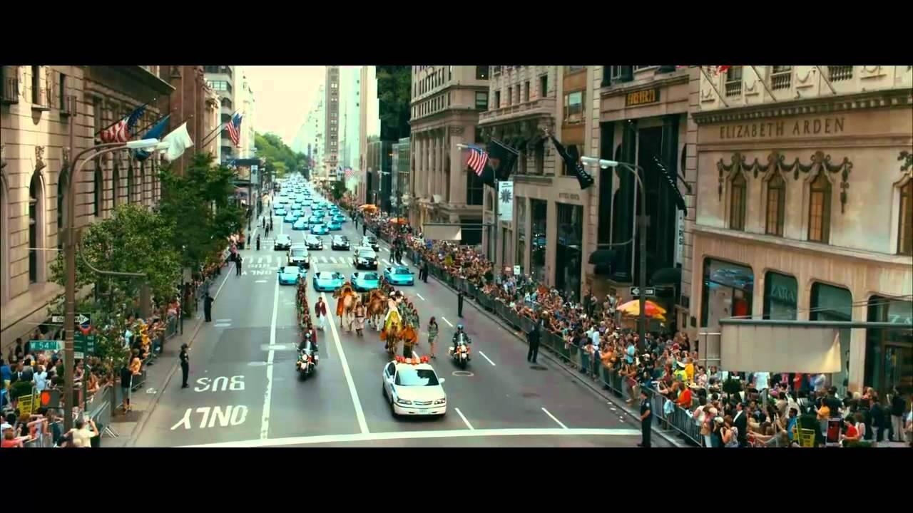 Lamborghini New York >> THE DICTATOR: Aladeen arrives in New York - YouTube