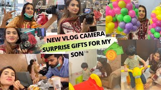 SPENT MY WHOLE SAVINGS FOR YOUTUBE , BOUGHT BEST VLOG CAMERA AND SURPRISE GIFTS FOR MY SON
