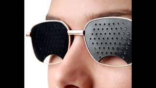 видео Очки в дырочку для улучшения зрения – помогают или нет?