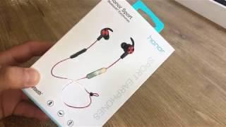 Honor Sport Bluetooth навушники від Huawei короткий огляд