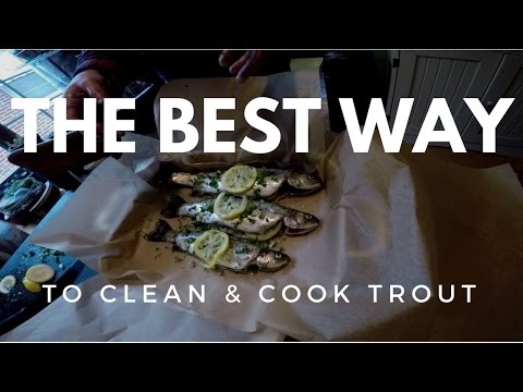 The BEST Way to Clean & Cook Stocked Trout