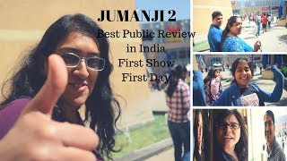 Jumanji 2 Public Reaction | Jumanji 3D Movie public review at Theater, First Show First Day in India