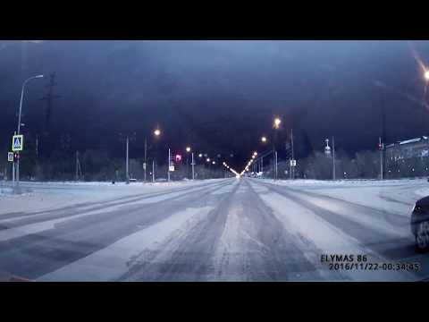 Молния зимой в Сургуте?! (22.11.16)