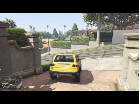 Let´s Play Grand Theft Auto V #4 new player xD | AlexusHD