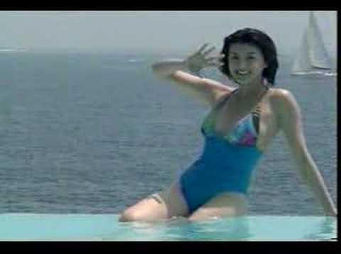 藤原紀香Norika Fujiwara in swimsuit