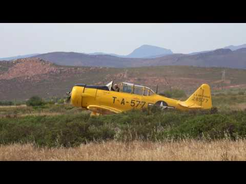 T-6 Texan North American Harvard Trainer Worcester South Africa