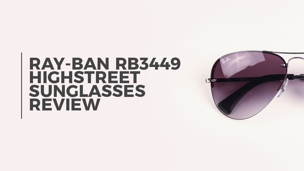 d9a0b1a6955 Ray Ban RB3449 Highstreet Sunglasses Review