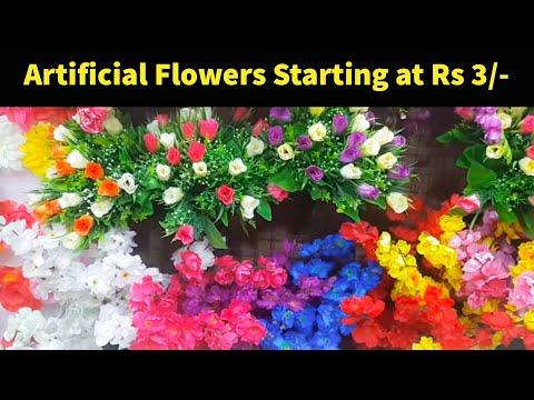 Wholesale /Retail Market of Artificial Flowers | Cheapest Home Decor Plants & Pots |Sadar Bazar