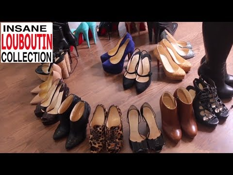 Christian Louboutin Collection + TRY ON!
