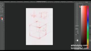 Обучение рисунку. Введение. серия 1.03. ошибки в пропорциях и перспективе