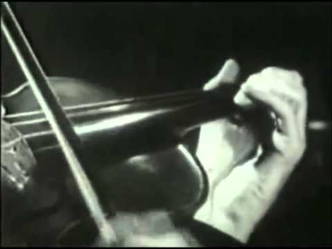 Heifetz in slow motion (with added sound)