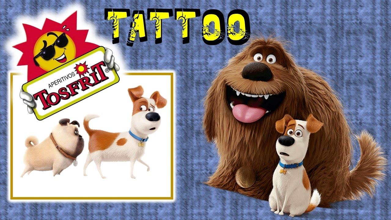 Tatuajes la vida secreta de tus mascotas colecci n tattoo for Tattoo secret life of pets