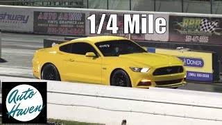 2015 5.0 Mustang GT vs 2015 Ford Taurus SHO | Surprising Outcome! | 1/4 mile