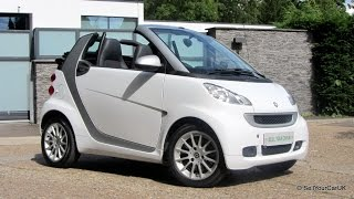 SOLD USING SELLYOURCARUK - 2011 Smart ForTwo Passion Cabrio 1.0 MHD SoftTouch Auto