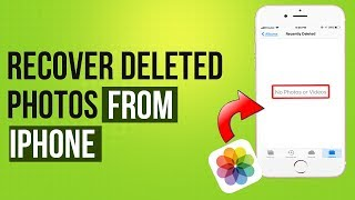 3 Ways to Recover Deleted Photos from iPhone 2019 | iPhone Del…