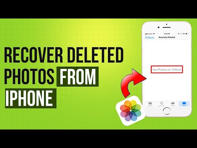 3 Ways to Recover Deleted Photos from iPhone 2019   iPhone Deleted Photo Recovery