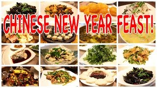 Chinese New Year: The Feast of Feasts | Eating With Locals in Sichuan!