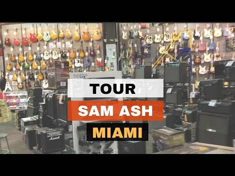 Sam Ash Miami Tour 2017