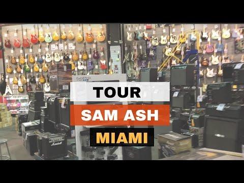 Sam Ash Miami Tour 2017
