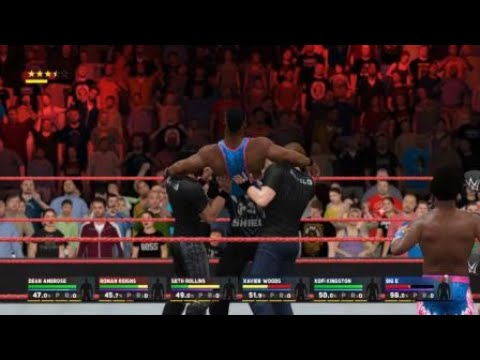WWE2K17-The Shield Triple Powerbomb To Big E