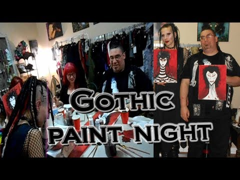 Join me for Gothic Paint Night | Madame Absinthe