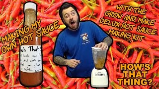 How to Make Your Own Hot Sauce with the Grow & Make Deluxe Kit