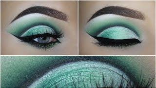 HOWTO green cutcrease + glitter
