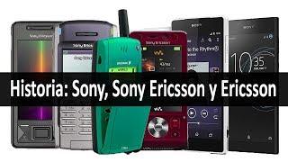 Teléfonos móviles Sony, Sony Ericsson y Ericsson | su historia en imágenes (1996 - 2017)