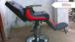 Heavy barber chair/ non hydraulic chair/ heavy duty hair cutting chair/ saloon chair available here