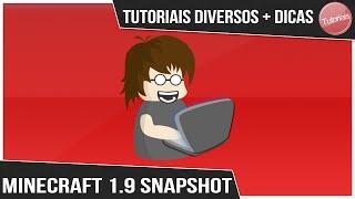 como baixar e instalar Minecraft 1.9 pirata (SNAPSHOT 15w31c) Atualizado 2015/2016
