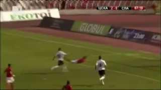 Spas Delev goal @ CSKA Sofia - Slavia 2:1 (21.04.2013)