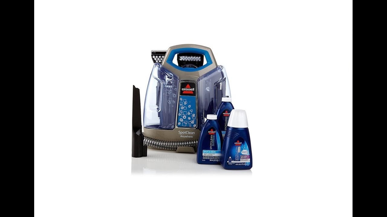 hsn item bissell spotclean anywhere portable cleaner - Bissell Spot Cleaner