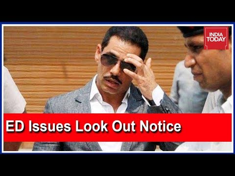 ED Issues Lookout Notice Against Robert Vadra's Aide Manoj Arora Mp3