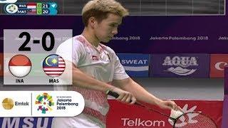 vuclip INA v MAS - Badminton Ganda Putra: Marcus/Kevin v Tan/Goh | Asian Games 2018