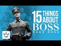 15 Things You Didn't Know About HUGO BOSS