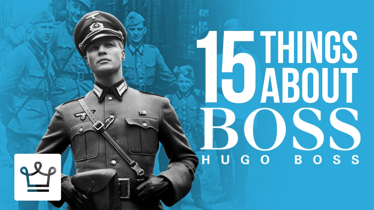 ca2abf06abc0 15 Things You Didn't Know About HUGO BOSS - YouTube