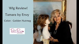 Wig Review:  Tamara by Envy in Golden Nutmeg