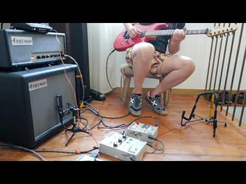 Pete Cornish G-2, TES, Stereo Super Chorus, Luxxtone El Machete Friedman