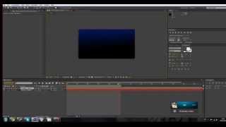 Проф заставка в Adobe After Урок #1