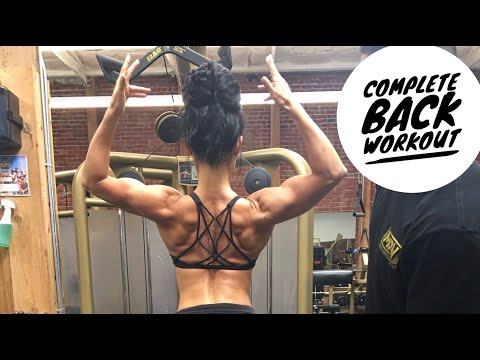 Complete BACK workout | SHAPE & TONE YOUR BACK
