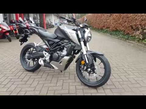 HONDA CB 125 R Neo Sports Cafe 2018 WALK AROUND SOUNDCHECK BEI MOTORRAD HUCHTING IN BREMEN