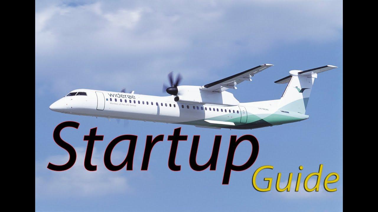 Q400 startup