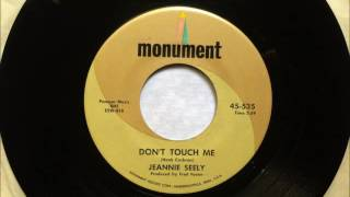 Watch Jeannie Seely Dont Touch Me video