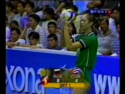 Gran Prix de Voleibol Feminino 2000 Final Cuba vs Rússia