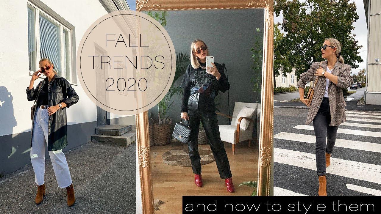 FALL TRENDS 2020 (You probably already have at home) & How to Style them! SCANDINAVIAN STYLE