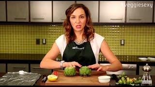 #veggiesexy Nutrisystem Recipe: Roasted Artichokes